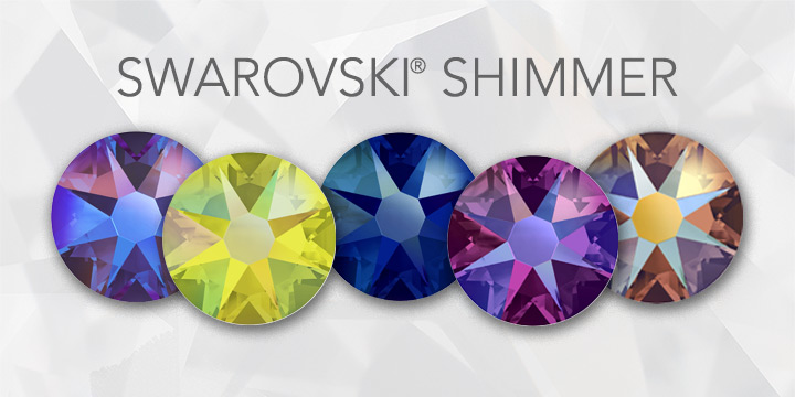 Swarovski Shimmer Colors