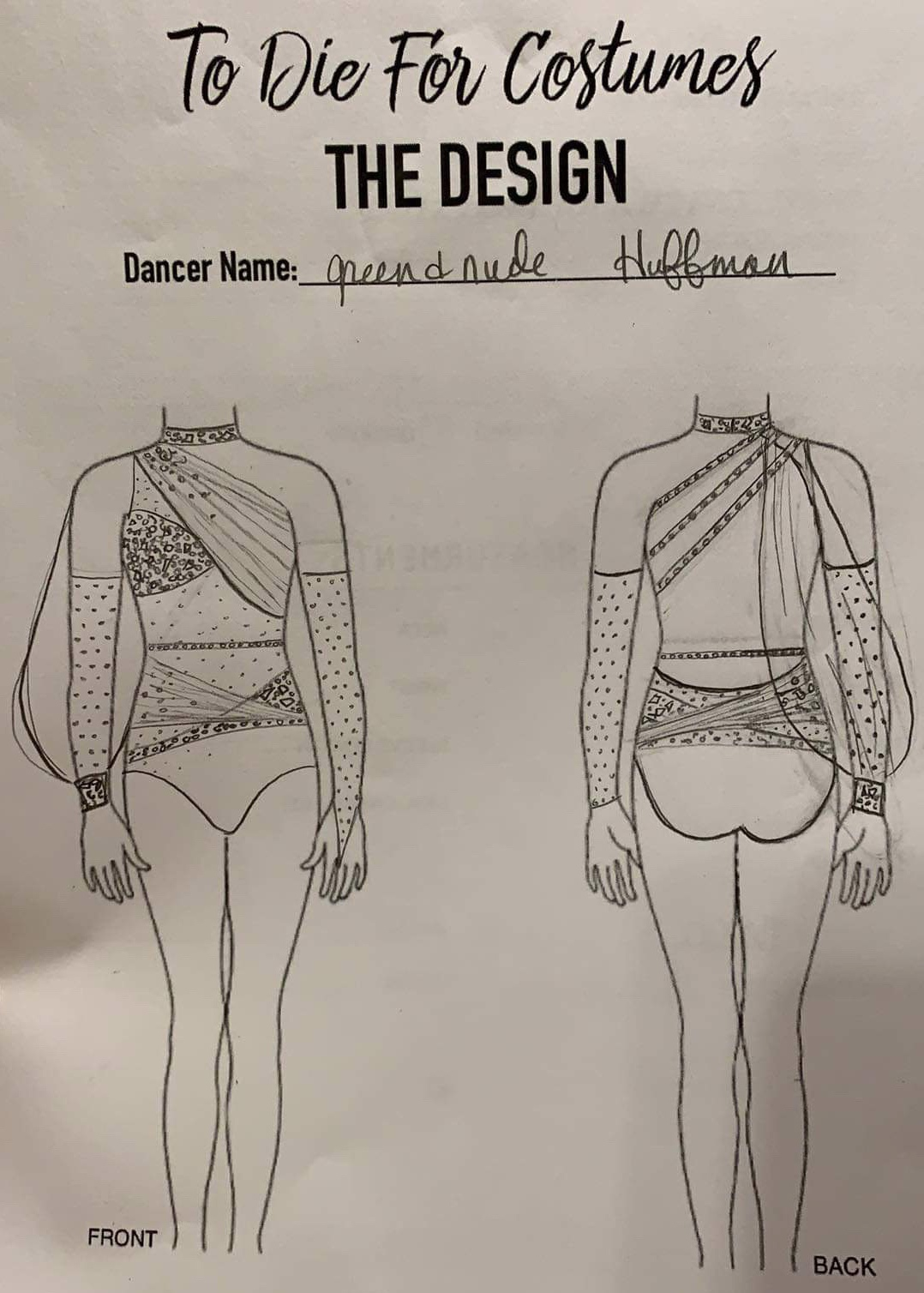 Making of To Die For Costumes