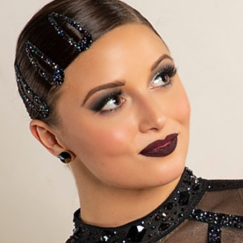 Rhinestone Hair Barrette - University of Minnesota Dance Team's Jazz Costumes