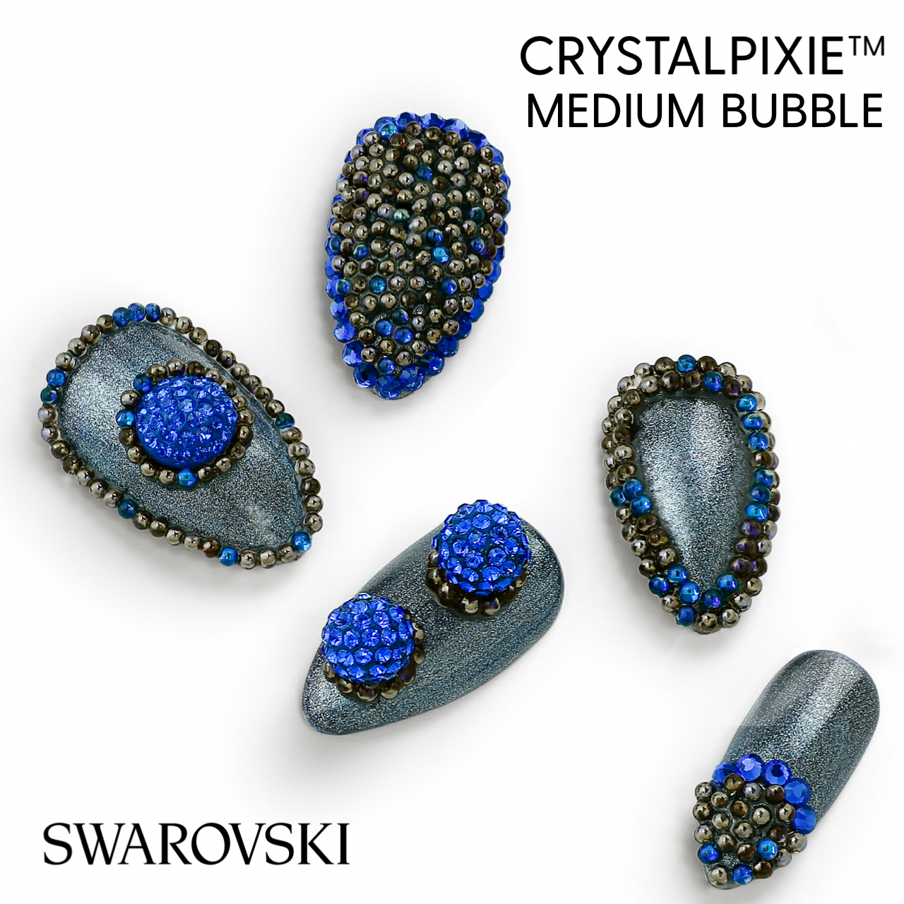 Swarovski CrystalPixie Bubble Medium
