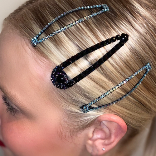 Rhinestone Hair Barrettes