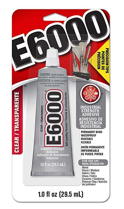 E6000 Glue - Precision Tips Adhesive