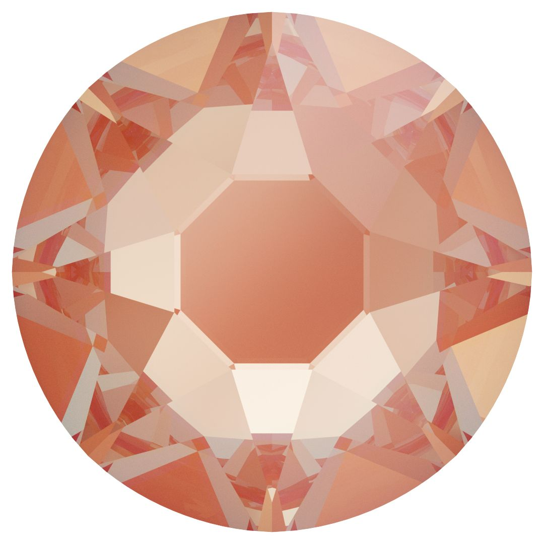 Rhinestone - Electric Orange DeLite