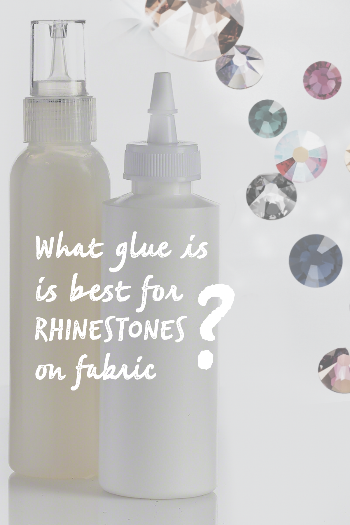 glue is best for rhinestones on fabric
